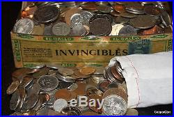 1 KILO Old World Estate Coin Collection Some Nice Silver Found Guaranteed