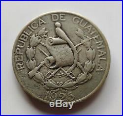 1 Quetzal 1925 of Guatemala