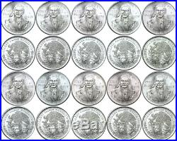 10 Piece Lot 1979 Mexico Silver 100 Pesos KM# 483.2 Uncirculated