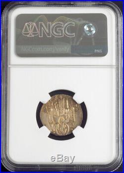 1311, Doges of Venice, Pietro Gradenigo. Medieval Silver Grosso Coin. NGC MS-63