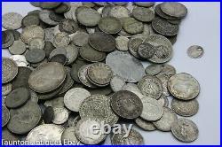 1500g 1.5 kg mixed world silver coins bullion invest Dollar thaler sterling
