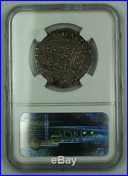 1560 Scotland Teston Silver Coin S-5418 Francis & Mary NGC AU-50 AKR