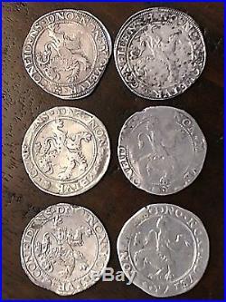 1576 Lion dollar Lion Daalder Dutch Thaler