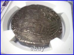 1596-1621 Atocha Era Bolivia 8 Reales Silver 8r Cob Colonial Coin