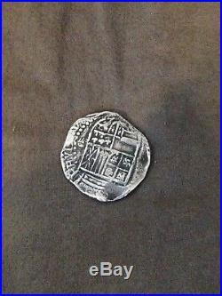 1622 (1985) ATOCHA SHIPWRECK PHILIP III 8 REALES SILVER COIN Mel Fisher