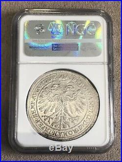 1626 Germany Thaler Nuremberg Silver Coin NGC MS62 Rare Taler Highest Grade