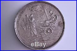 1640 GERMANY Blum 4 THALER, SILVER, Medal Coin