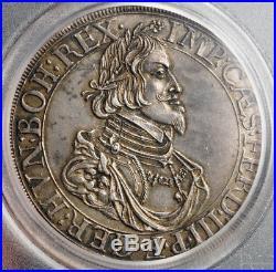 1641, Augsburg (Free City), Ferdinand III. Silver City-View Thaler. PCGS AU55