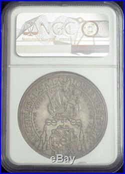 1692, Salzburg, Johann Ernst von Thun. Beautiful Silver Thaler Coin. NGC AU+