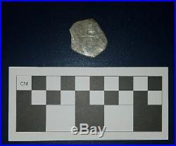 1715 Fleet Shipwreck Mexico Silver 4-Reales Cob Mel Fisher Cobb Coin Co. COA