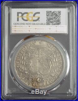 1759, Salzburg, Sigismund III von Schrattenbach. Silver Thaler Coin. PCGS UNC+