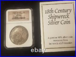 1783 MO FF Mexico 8 Reales El Cazador 8R Shipwreck Coin, NGC Certified, with box