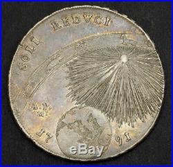 1791, Naples & Sicily, Ferdinand IV. Silver Zodiac Piastra (120 Grana) Coin