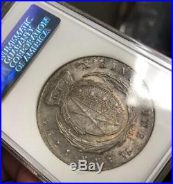 1795 GERMANY TAL SAXONY Taler Thaler MS 64 Silver World Coin GOLD TONES