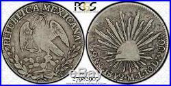 1842 Mo ML 2r Reale Pcgs Vg10 Very Rare Numista Rare Krause Top Pop Only 1