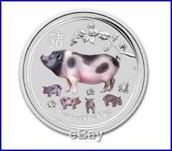1983 China 10 Yuan Lunar Pig Proof Silver Coin NGC/NCS PF69 Ultra Cameo Rare