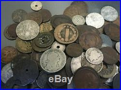 2.1 Pounds of pre-World War II Coins with Silver