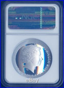 2014 Australia 1 Oz Silver Domed Constellation Orion $5 NGC PF70 SOUTHERN SKY