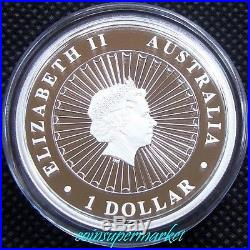 2014 Australia Opal Series #6 Masked Owl 1oz Silver Proof Coin Perth COA & Box