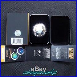 2014 Australia Southern Sky Orion 1oz Silver Proof Colored Domed Coin COA & Box