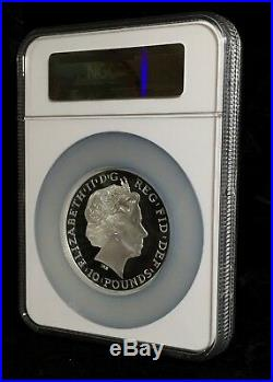 2014 Britannia 5 oz NGC PF 70 Proof High Relief Great Britain Silver Coin £10