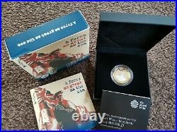 2015 First World War Royal Navy Piedfort £2 Two Pound Silver Proof Coin Boxed