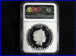 2015 Niue $2 AVENGERS COLORIZED NGC PF70 Ultra Cameo 1OZ. 999 Silver 5 COIN SET