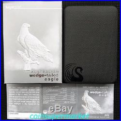 2016 Australia Wedge Tailed Eagle 1oz Silver Proof High Relief Coin PCGS PR70 DC