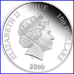 2016 Darth Vader Star Wars, 1 KG Silver Proof $100 Coin