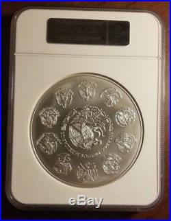2016-Mo Mexico 1 Kilo Silver Libertad NGC MS70