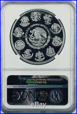 2017 1oz Silver Libertad ProofTreasure Coin of Mexico NGC PF 70 Early Release