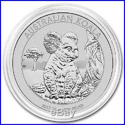 2017 Australia 1 kilo Silver Koala BU