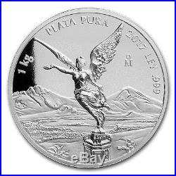 2017 Mexico 1 kilo Silver Libertad High Relief Prooflike