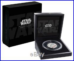 2017 Niue Star Wars -Darth Vader Ultra HR 2 oz Proof Silver $5 SKU49467