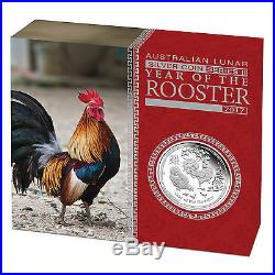 2017 P Australia PROOF Silver Lunar Year of the Rooster NGC PF70 1 oz $1 Coin ER