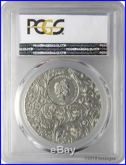 2018 $10 Cook Islands Little Secrets 2oz. 999 Silver Coin PCGS MS70 FD