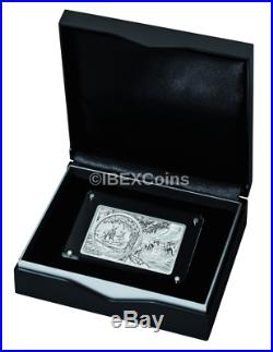 2018 3 oz 25th Anniversary Australia KANGAROO Privy Silver Bar and Coin Set Box