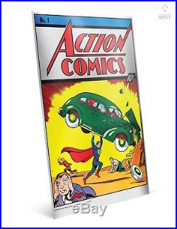 2018 Action Comics #1 Premium 35g Pure Silver Foil