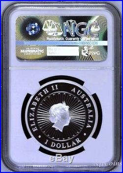 2018 Australia OPAL LUNAR Year of the DOG 1oz Silver Proof Coin NGC PF70 UC ER