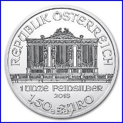 2018 Austria 1 oz Silver Philharmonic BU (Tube) SKU#166560