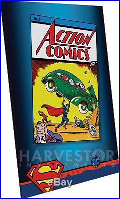 2018 DC Comics Action Comics #1 35g Premium Silver Foil Cgc 9.9 Mint