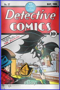 2018 DC Comics Detective Comics #27 Premium Silver Foil 35 Grams Pure Silver
