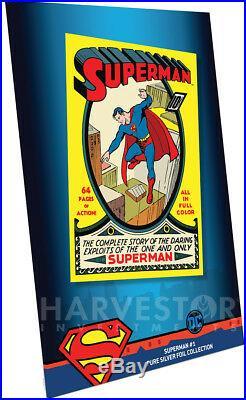 2018 DC Comics Superman #1 Premium Silver Foil Cgc 9.9 Mint First Release