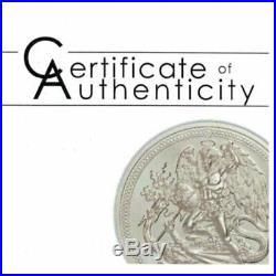 2018 Isle of Man Piedfort Angel HR 999 Silver 2oz Proof Coin PCGS PR70DCAM FD