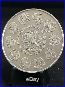 2018 MEXICO 2oz SILVER LIBERTAD ANTIQUED FINISH MINT SPECIALTY COLLECTOR SET