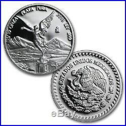 2018 Mexico 5-Coin Silver Libertad Proof Set (1.9 oz, Wood Box) SKU#162429