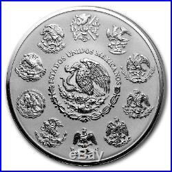 2018 Mexico 5 oz Silver Reverse Proof Libertad SKU#173395