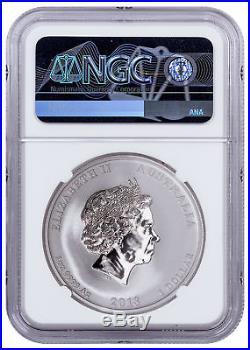 2018-P Australia 1oz Silver Tiger & Dragon $1 NGC MS70 First 593 Struck SKU54910
