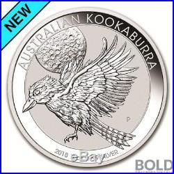 2018 Silver 10 oz Australia Perth Kookaburra