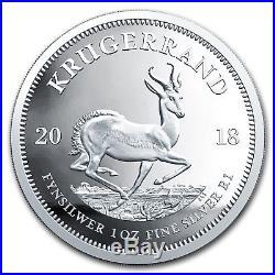2018 South Africa 1 oz Silver Krugerrand Proof SKU#163740